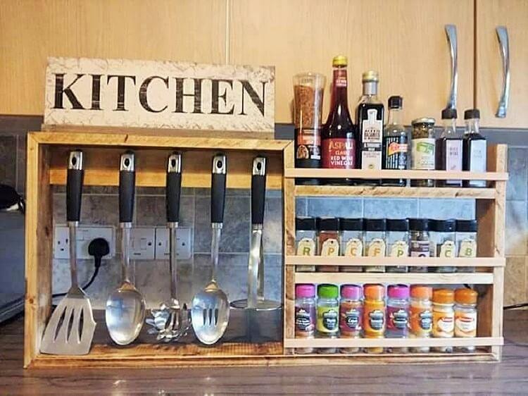 wooden pallet kitchen save