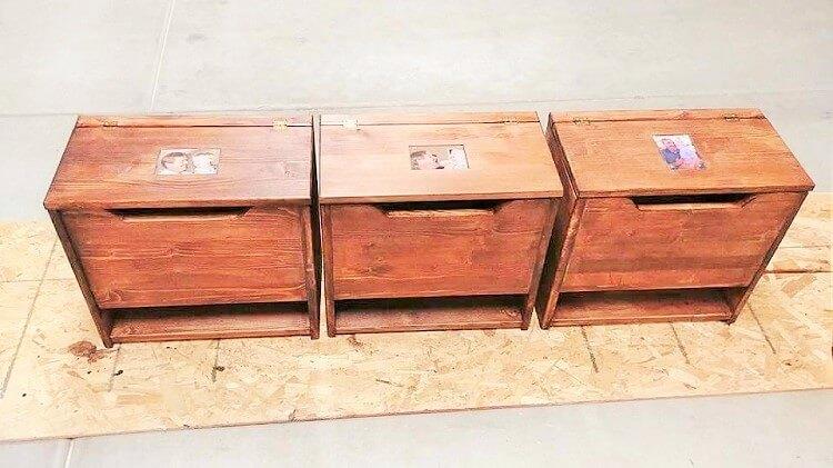 wooden pallet small box Glen Adams2