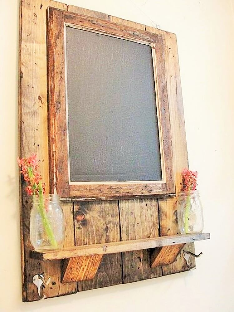 wooden pallet wall craft