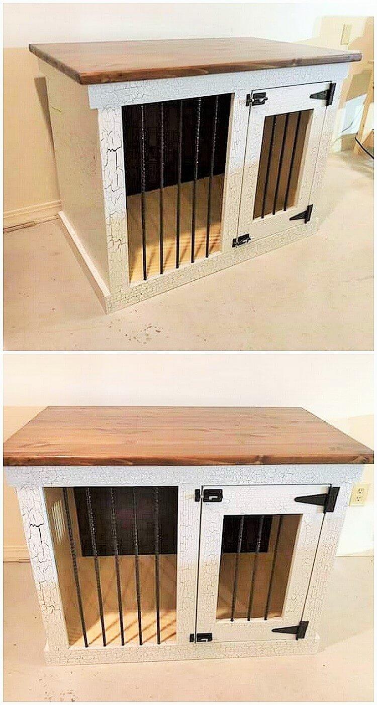 wooden pallets kitchen banch