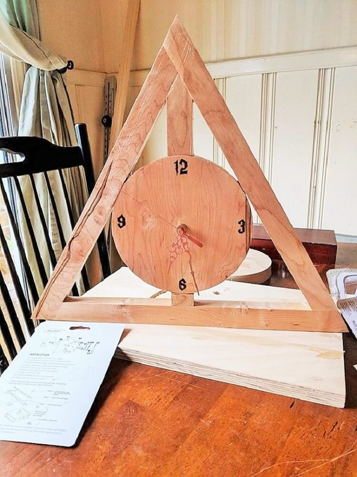 wooden pallets watch time Chris Chandler