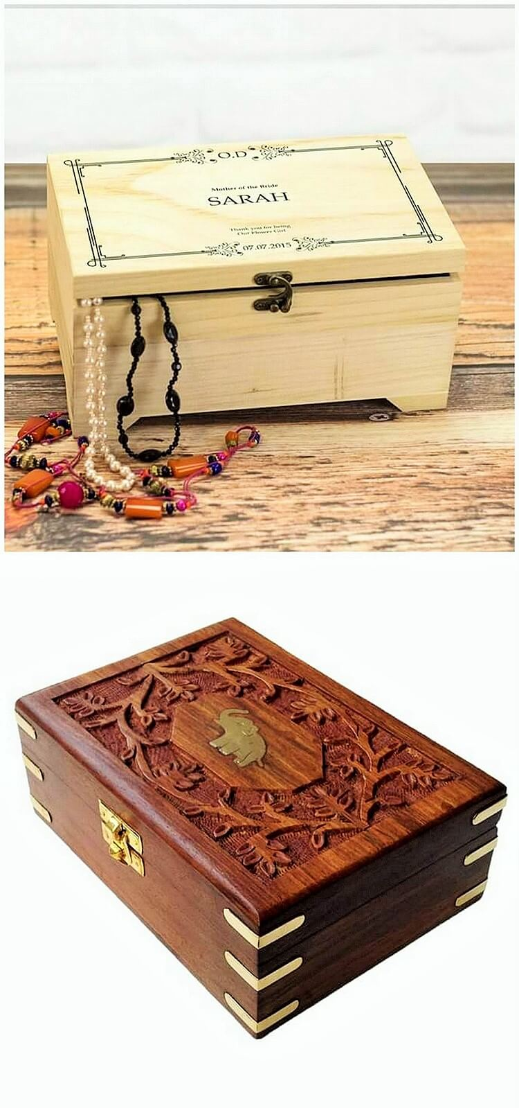 wooden small box
