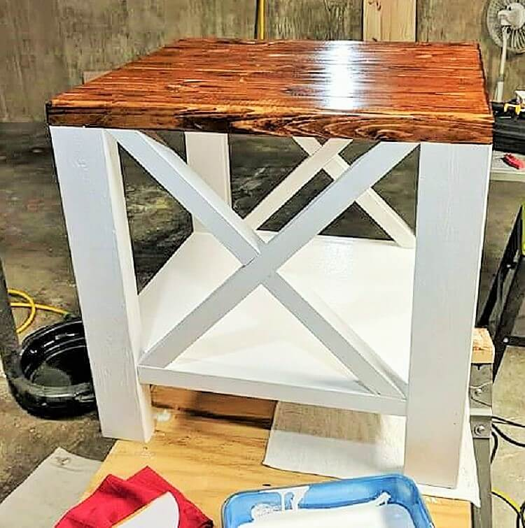 wooden small kitchen table