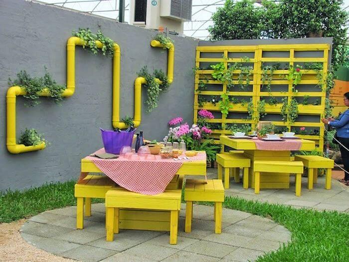 Homemade DIY Wooden Pallet Small Planter Ideas 11