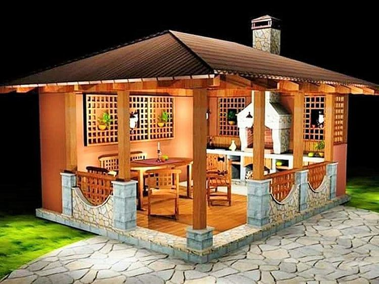Wooden- drinking- home- in-garden-Project-06