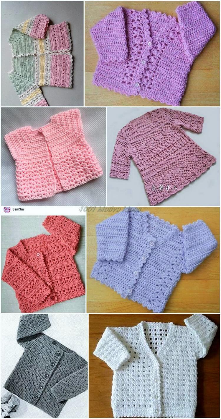 Ideas For How To Make Crochet Baby Dresses? - 1001 Motive Ideas