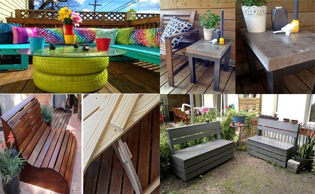 7 Amazing DIY Garden Furniture Ideas - 1001 Motive Ideas