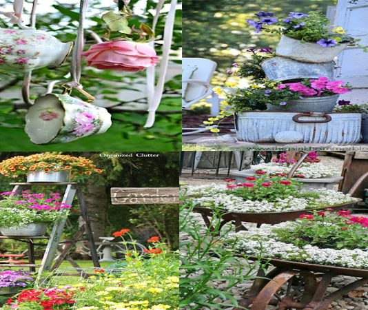 10 Beautiful Vintage Touches for Your Garden