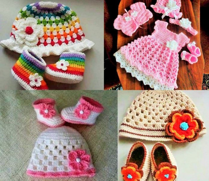 Crochet baby dress pattern free easy Free Patterns