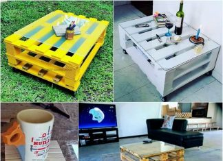 1-Palltes coffee-table