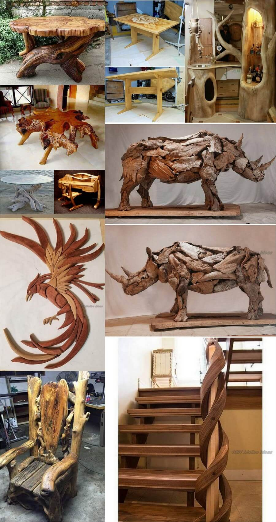 10 Awesome Woodworking&Decor items