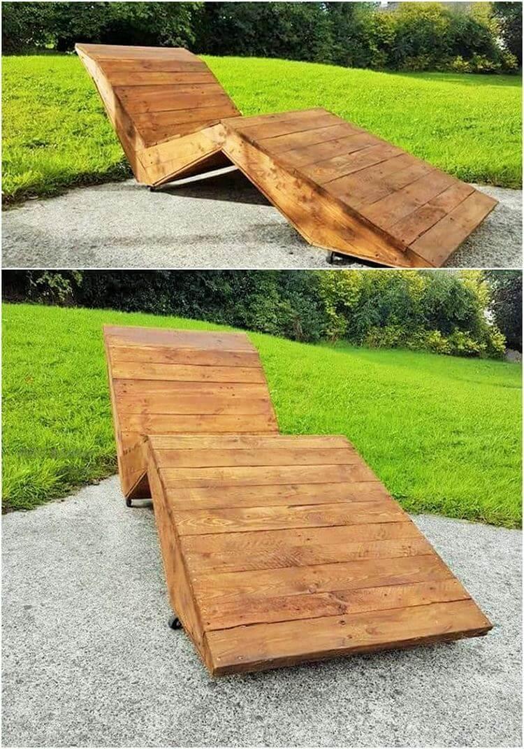 Diy- pallet into an outdoor bench- 04