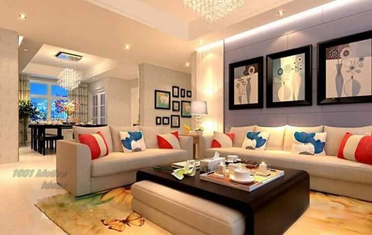 Living-room-Diy-Home-Decor- Designs-free-patterns- 11
