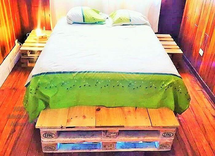 Wooden-Pallet-Diy-Bed- pattern free easy-Free Patterns- 05