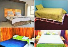 Wooden-Pallet-Diy-Bed- pattern free easy-Free Patterns