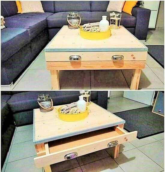Build a wooden pallets sofa and bench- (11)