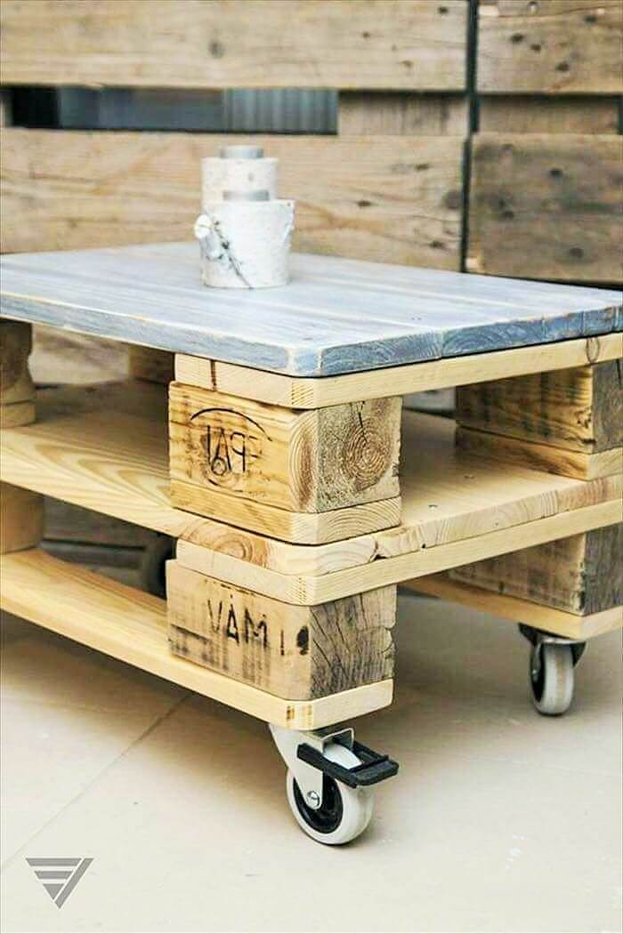 Build a wooden pallets sofa and bench- (12)