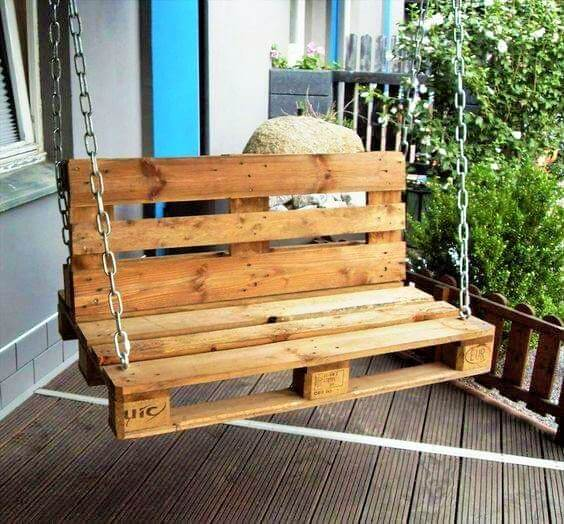 Build a wooden pallets sofa and bench- (20)