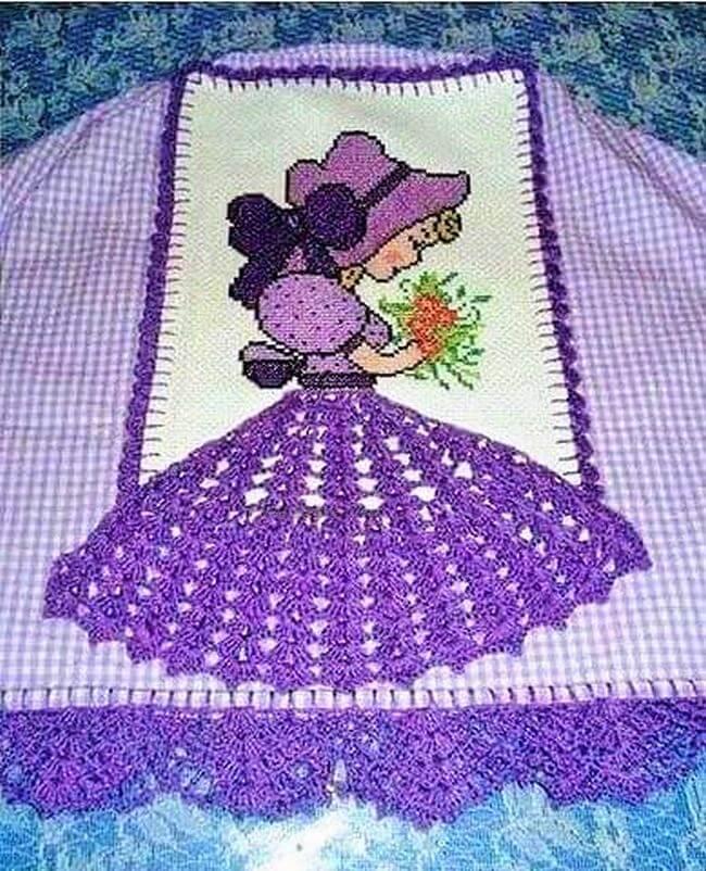 Crochet baby dress pattern free easy-16