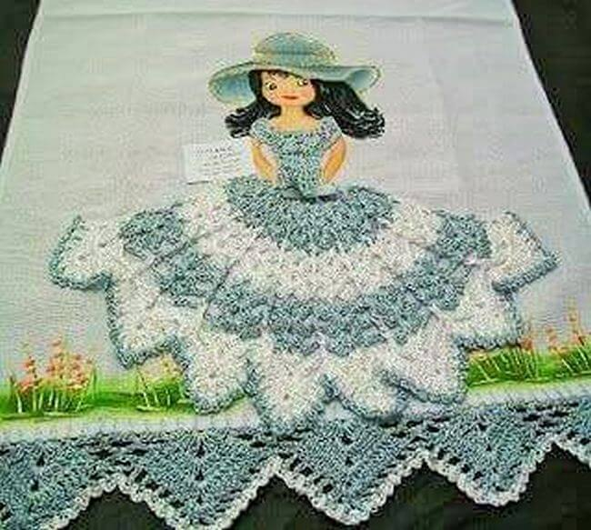 Crochet baby dress pattern free easy-18