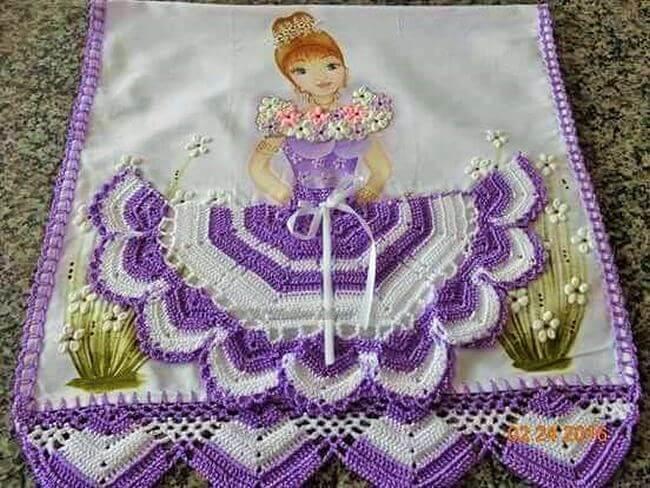 Crochet baby dress pattern free easy-19