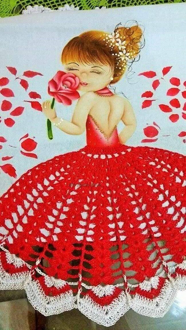 Crochet baby dress pattern free easy-20