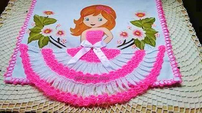 Crochet baby dress pattern free easy-22
