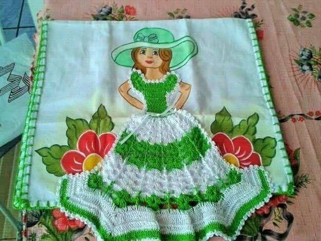 Crochet baby dress pattern free easy-23