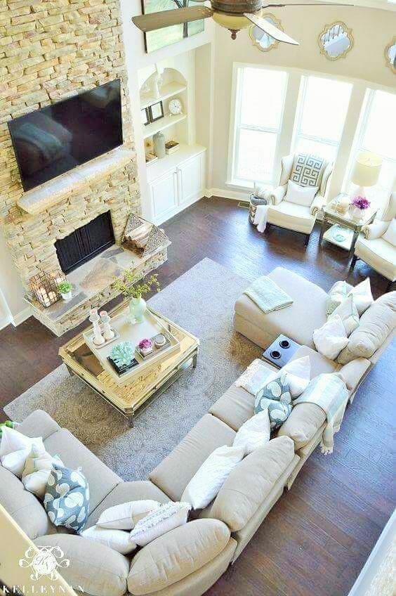 Lovely Living Room Design Ideas - (19)