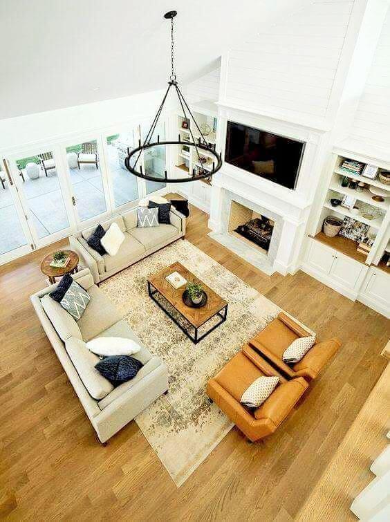 Lovely Living Room Design Ideas - (20)