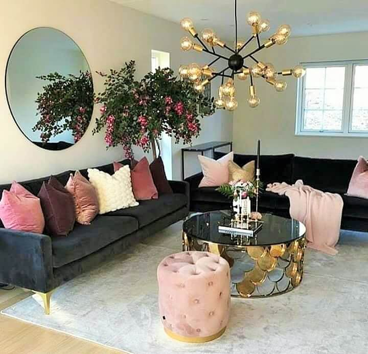 Stylish Living Room Decorating Designs- (10)