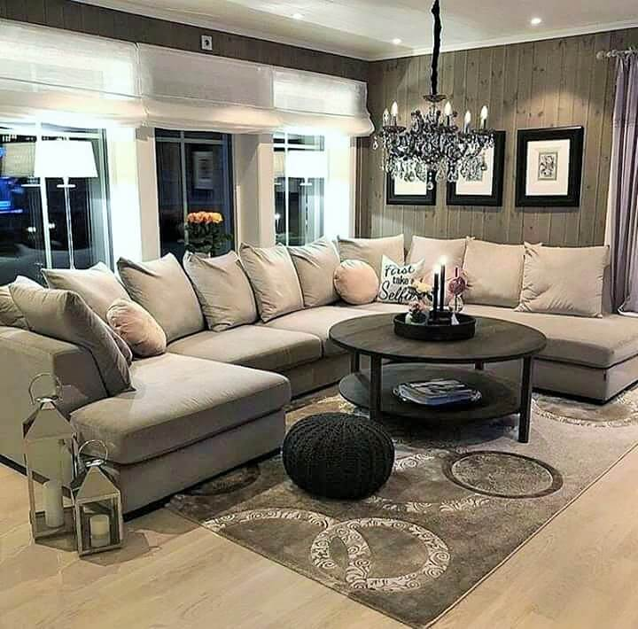 Stylish Living Room Decorating Designs- (11)