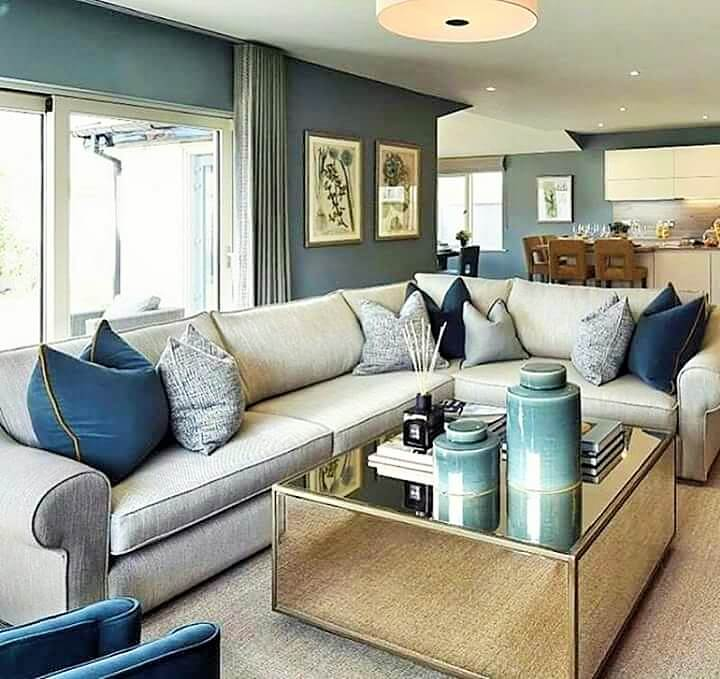 Stylish Living Room Decorating Designs- (12)