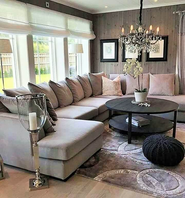 Stylish Living Room Decorating Designs- (13)