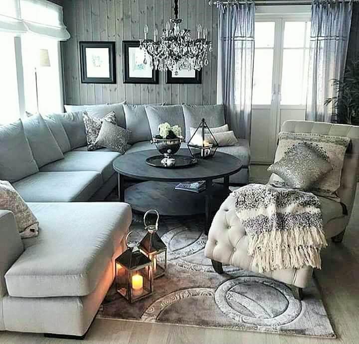Stylish Living Room Decorating Designs- (18)