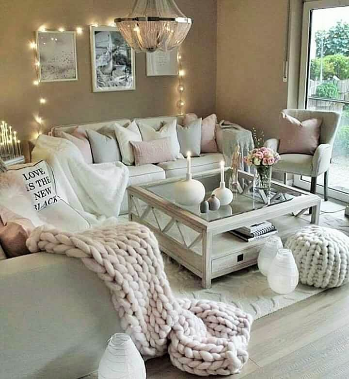Stylish Living Room Decorating Designs- (19)
