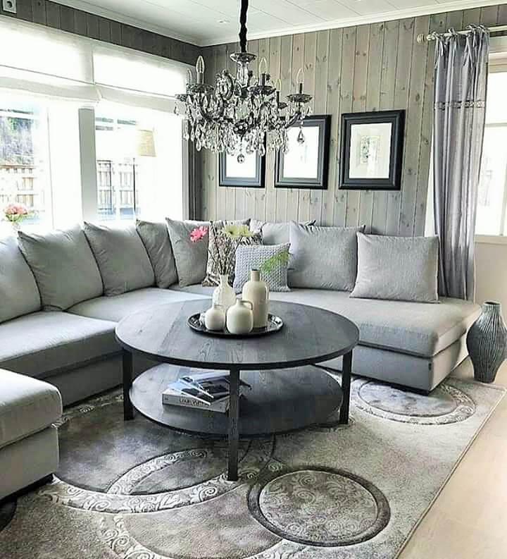 Stylish Living Room Decorating Designs- (20)