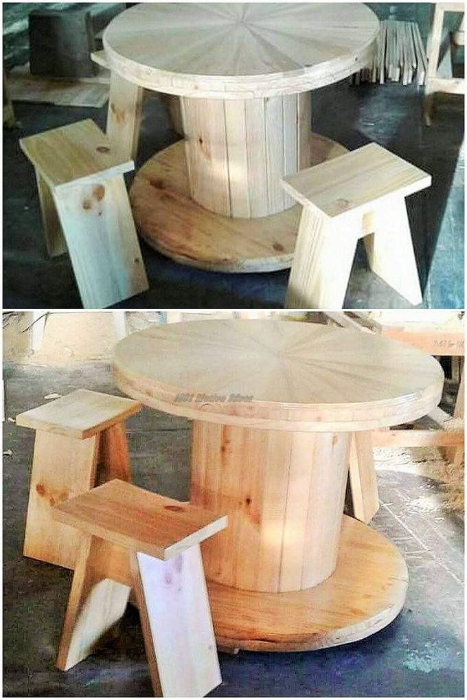 Top-ways of turning pallets into furniture- (10)