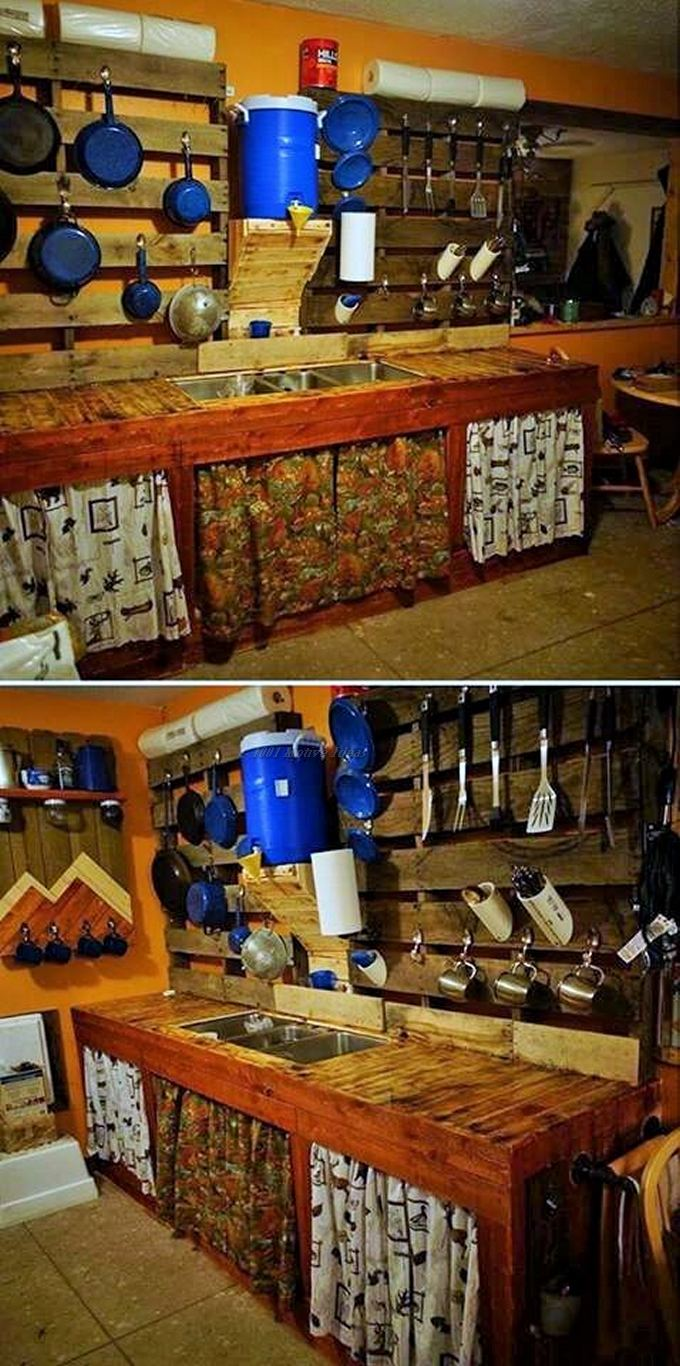 Top-ways of turning pallets into furniture- (13)
