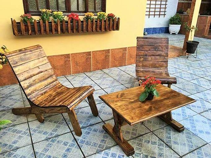 Top-ways of turning pallets into furniture- (14)