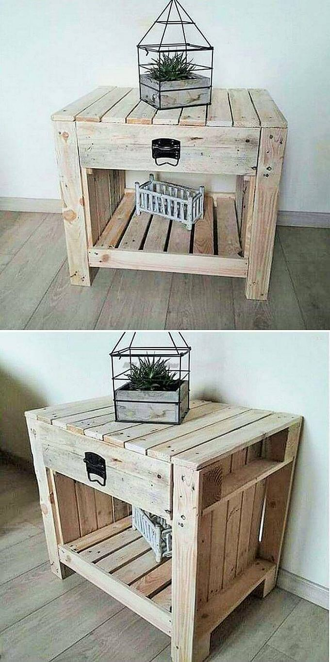 Top-ways of turning pallets into furniture- (18)