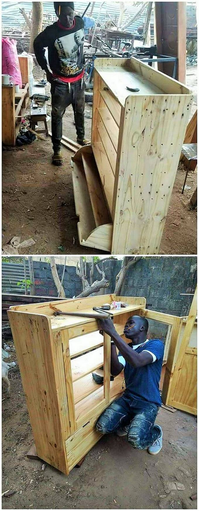 Top-ways of turning pallets into furniture- (5)