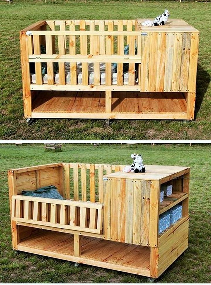 Wooden Pallets for Domestic and International Use- (10)
