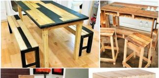 DIY-Pallet Dining Table ideas